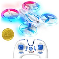 UFO 4000 Drone with Remote Control, Bright LED Lights and Extra Quadcopter Battery