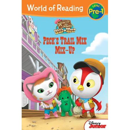 World of Reading: Sheriff Callie's Wild West Peck's Trail Mix Mix-Up : Level - Sheriff Callie Coloring Pages