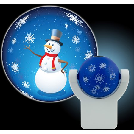 (Projectables Holiday Snowman LED Plug-In Night Light, 11362)