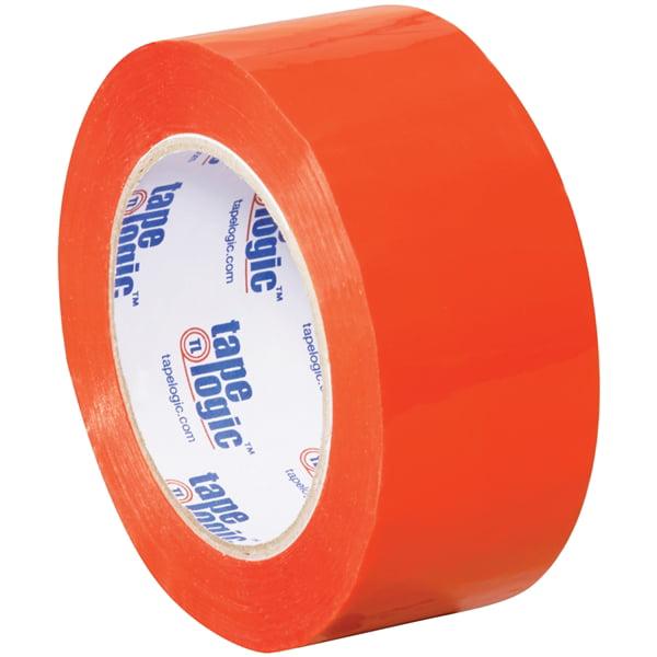 """Tape Logic Orange Carton Sealing Tape 2"""" x 110 yard (36 Roll/Case)"""