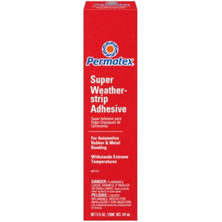 Permatex Automotive Super Weatherstrip Adhesive 5 OZ 81731
