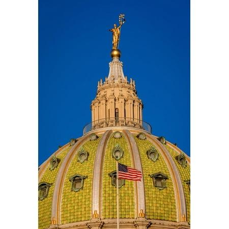 Pennsylvania State Capitol, Harrisburg, PA Print Wall