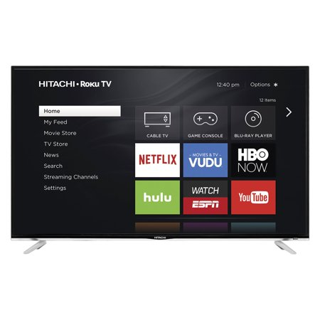 "Hitachi 50"" Class FHD (1080P) Smart Roku LED TV (50R5)"