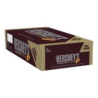 Hershey's, Milk Chocolate with Almonds Candy Bar, 1.45 Oz., 36 Ct.