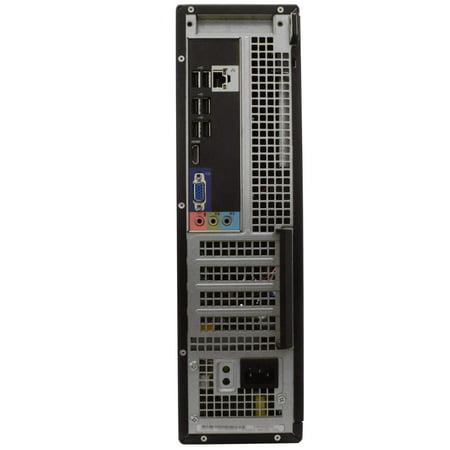 "Dell OptiPlex 390 Desktop Computer PC, 3.20 GHz Intel i5 Quad Core Gen 2, 16GB DDR3 RAM, 2TB SATA Hard Drive, Windows 10 Professional 64 bit, 19"" Screen Refurbished - image 6 of 9"