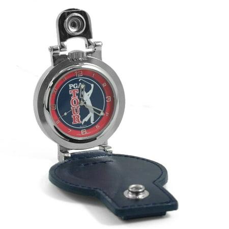 Colibri of London Silver Leather PGA Tour Pocket (Colibri Set Pocket Watch)