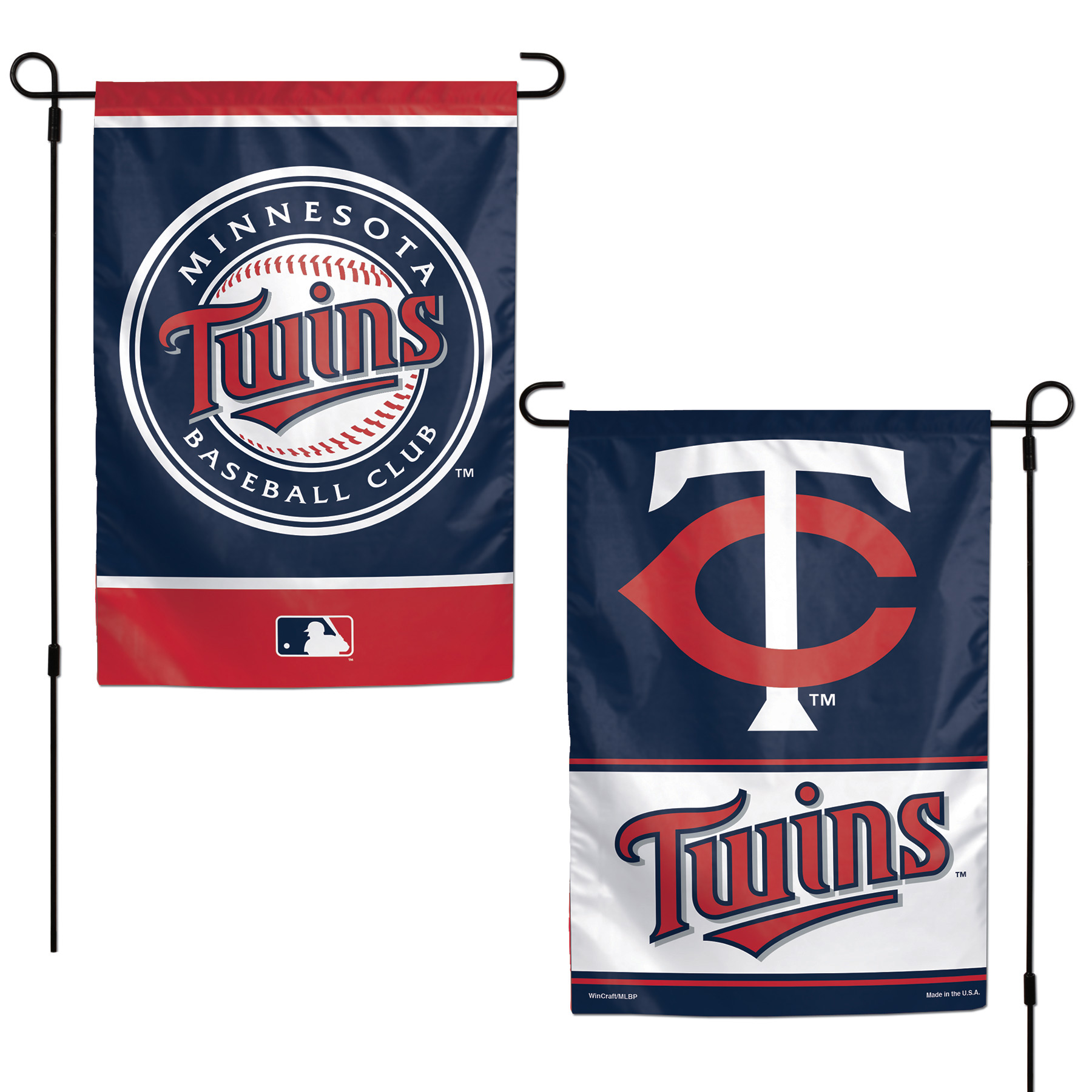 "Minnesota Twins WinCraft 12"" x 18"" Double-Sided Garden Flag - No Size"