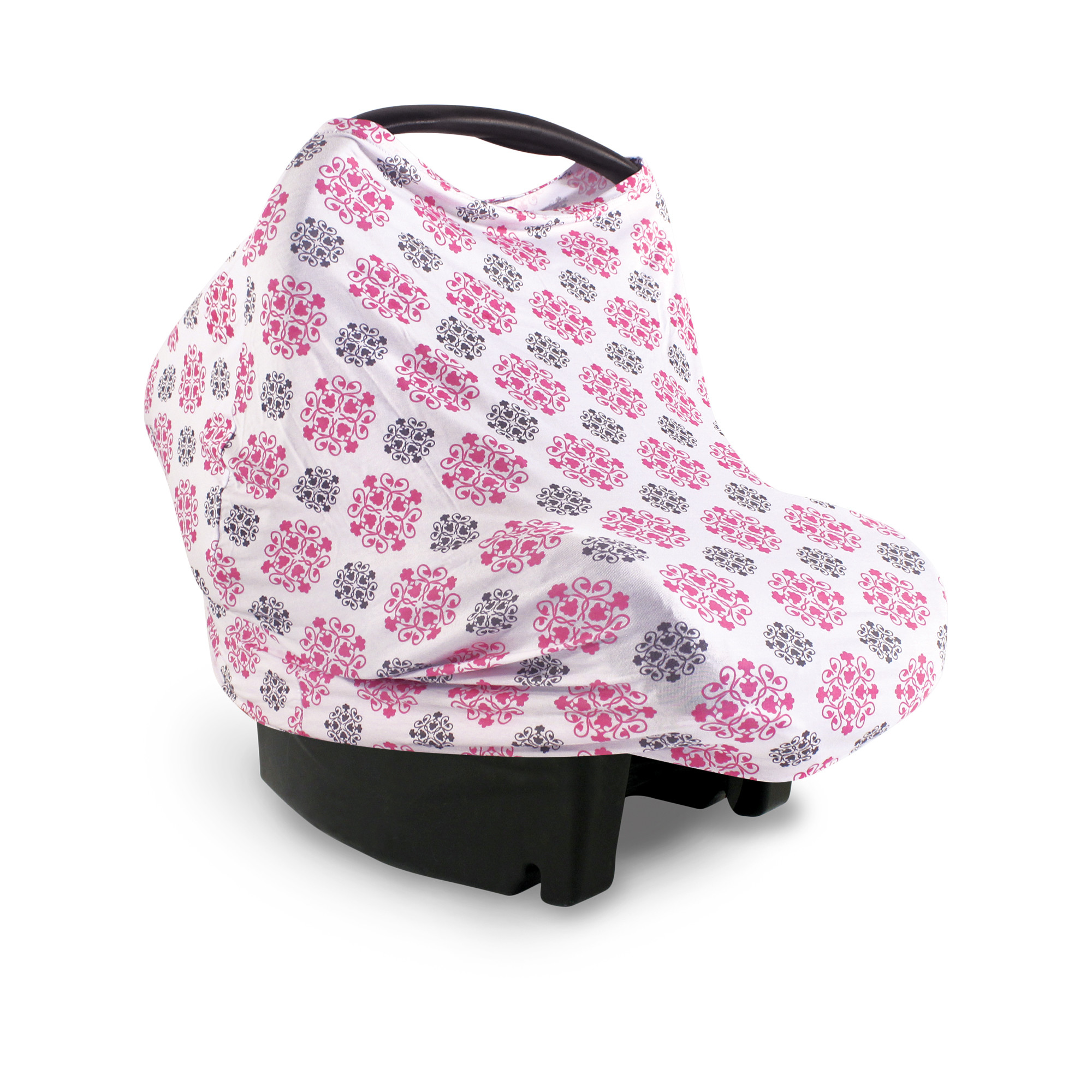 Yoga Sprout Multi Use Carseat Canopy, High Chair Cover, Nursing Cover - Medallion