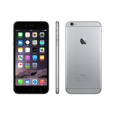 Solid Silver Cell (iPhone 6 16GB 32GB 64GB 128GB Boost Mobile Gold Gray Silver Excellent Condition )