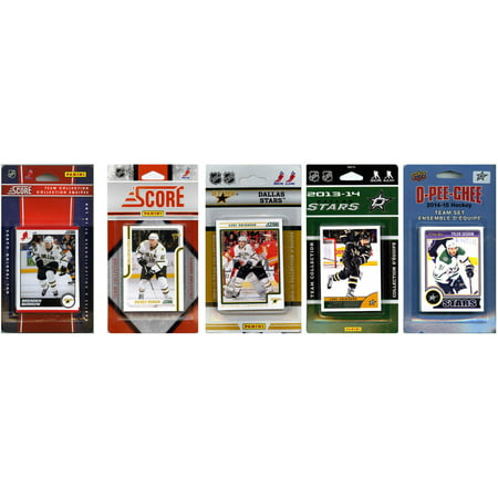 C&I Collectables NHL Dallas Stars 5 Different Licensed Trading Card Team