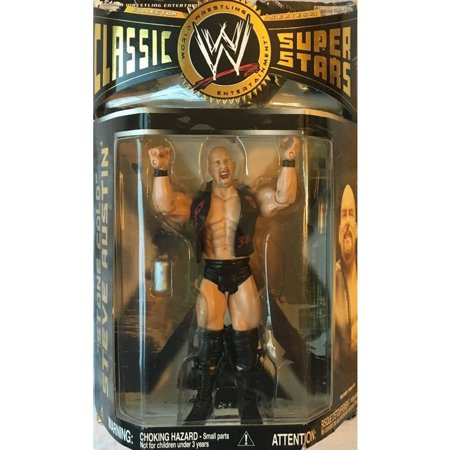 WWE Wrestling Classic Superstars Series 18 Stone Cold Steve Austin Action Figure - Multi Stone Star