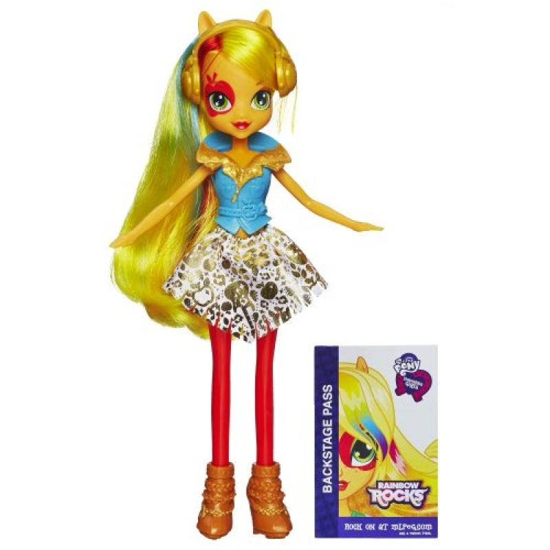 My Little Pony Equestria Girls Applejack Doll (Neon Rainbow Rocks)