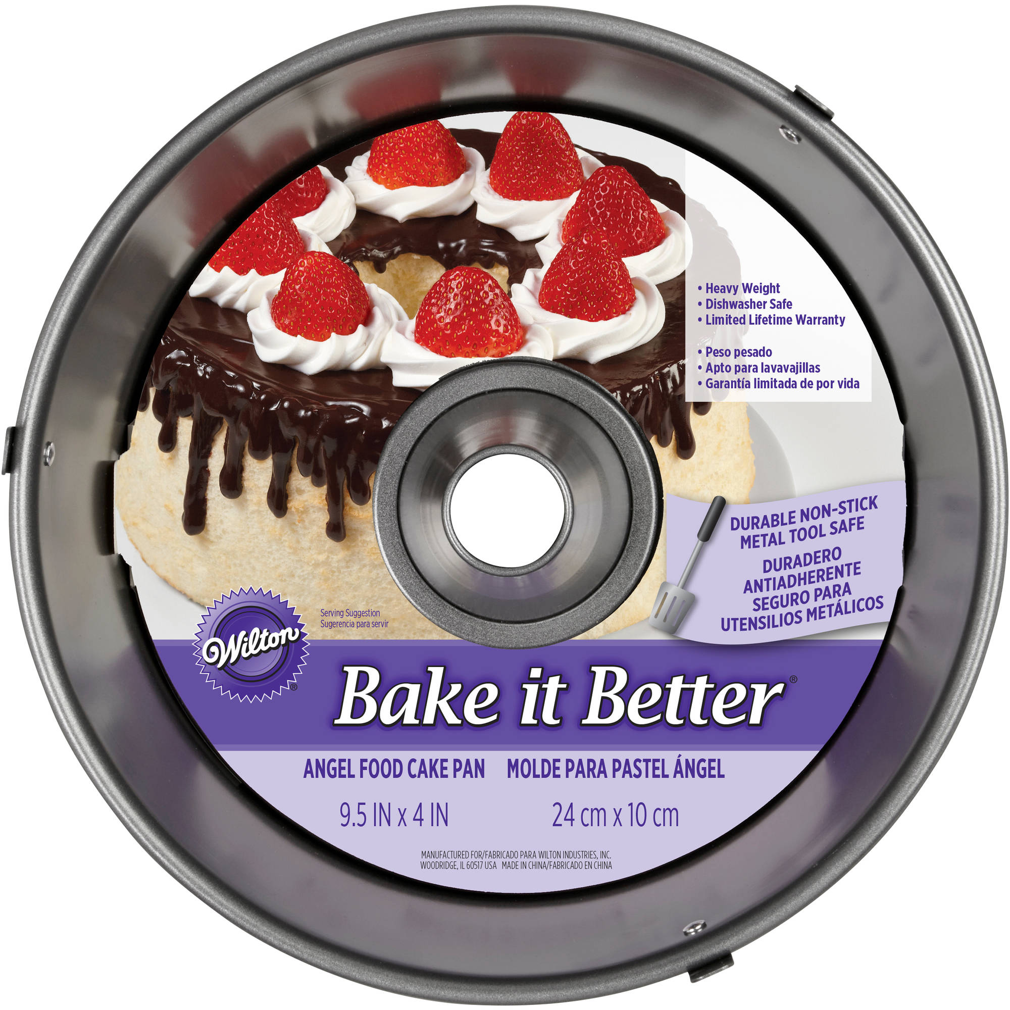 Wilton Bake It Better Angel Food Cake Pan 2105-4953