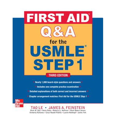 First Aid Q&A for the USMLE Step 1, Third Edition (First Aid Step 2 Cs Latest Edition)