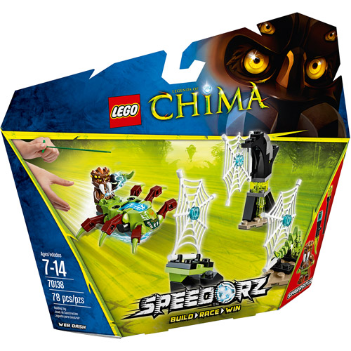 LEGO Chima Web Dash Game