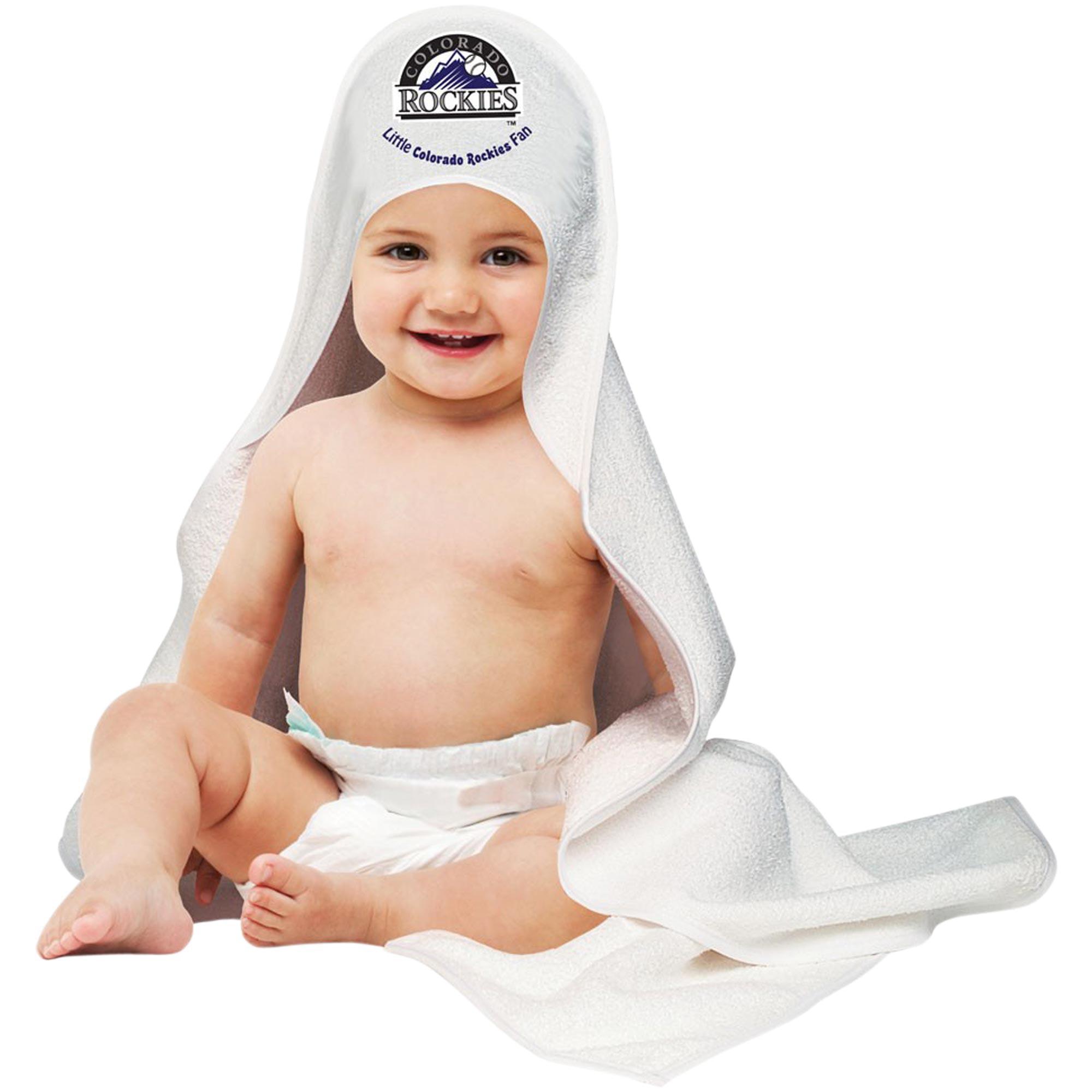 Colorado Rockies WinCraft Hooded Baby Towel - No Size