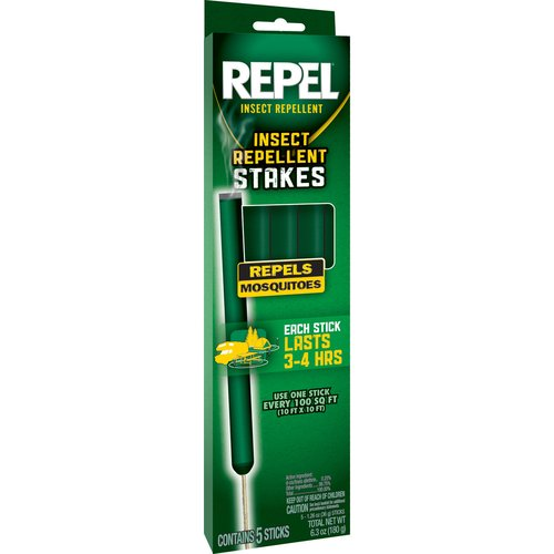 Repel Mosquito Repellent Stakes