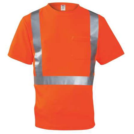 job sight s75029 hi vis t shirt short sleeve orange xl. Black Bedroom Furniture Sets. Home Design Ideas