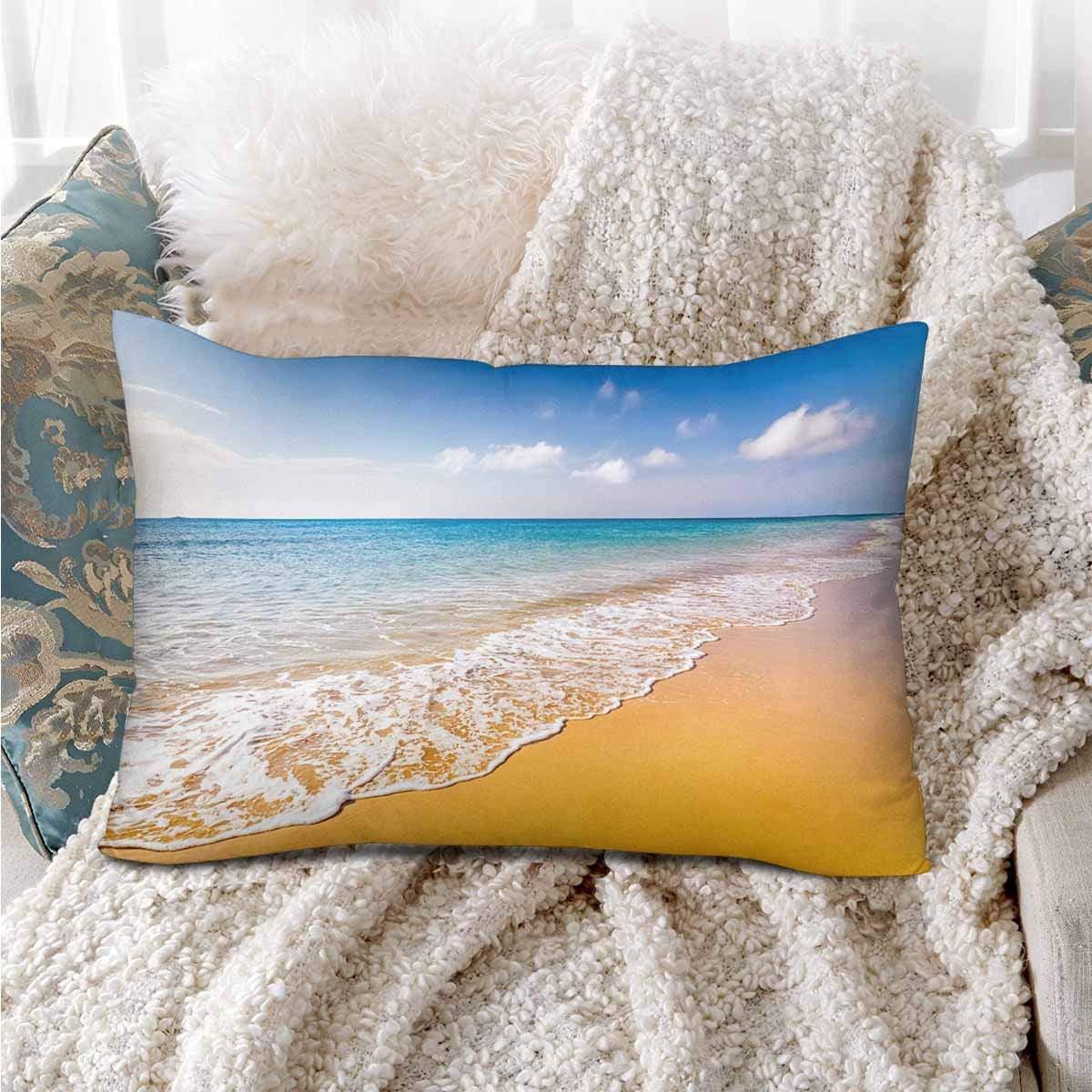 GCKG Beautiful Ocean Beach Summer Vacation Pillow Cases Pillowcase 20x30 inches - image 3 de 4