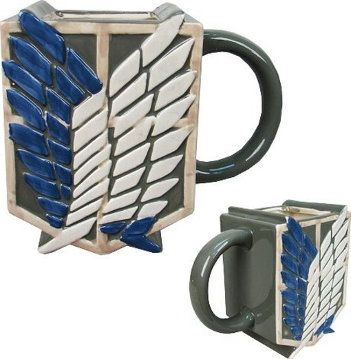 Attack on Titan: Survey Corps. Scout Sculpted Mug