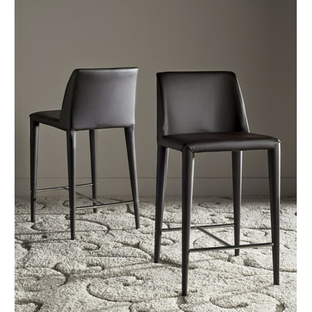 Safavieh Garretson Modern Glam Counter Stool with Footrest