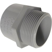 5140106C 1.25 in. PVC Male Terminal Adapter