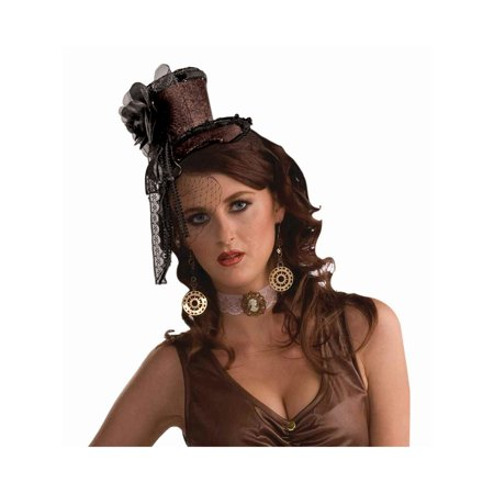 Halloween Steampunk Brown Headband Hat](Steampunk Clothes For Women)