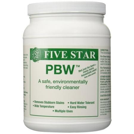 Five Star PBW Cleaner (Powdered Brewery Wash), 4-Pound
