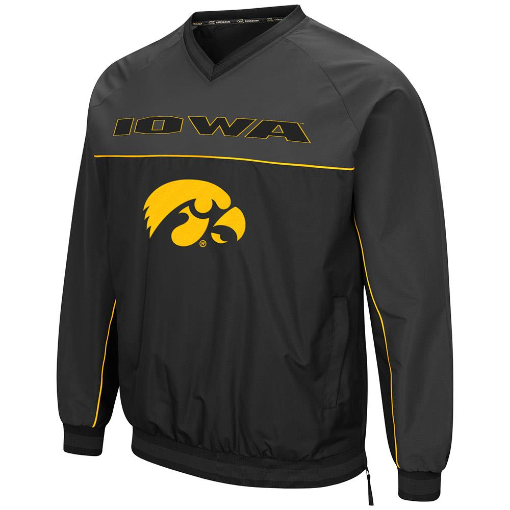 Mens Iowa Hawkeyes Windbreaker Jacket XL by Colosseum