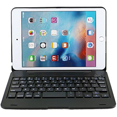 iEGrow F1+ Ultra Slim Portable Protective Keyboard Case for iPad Mini 4 A1538