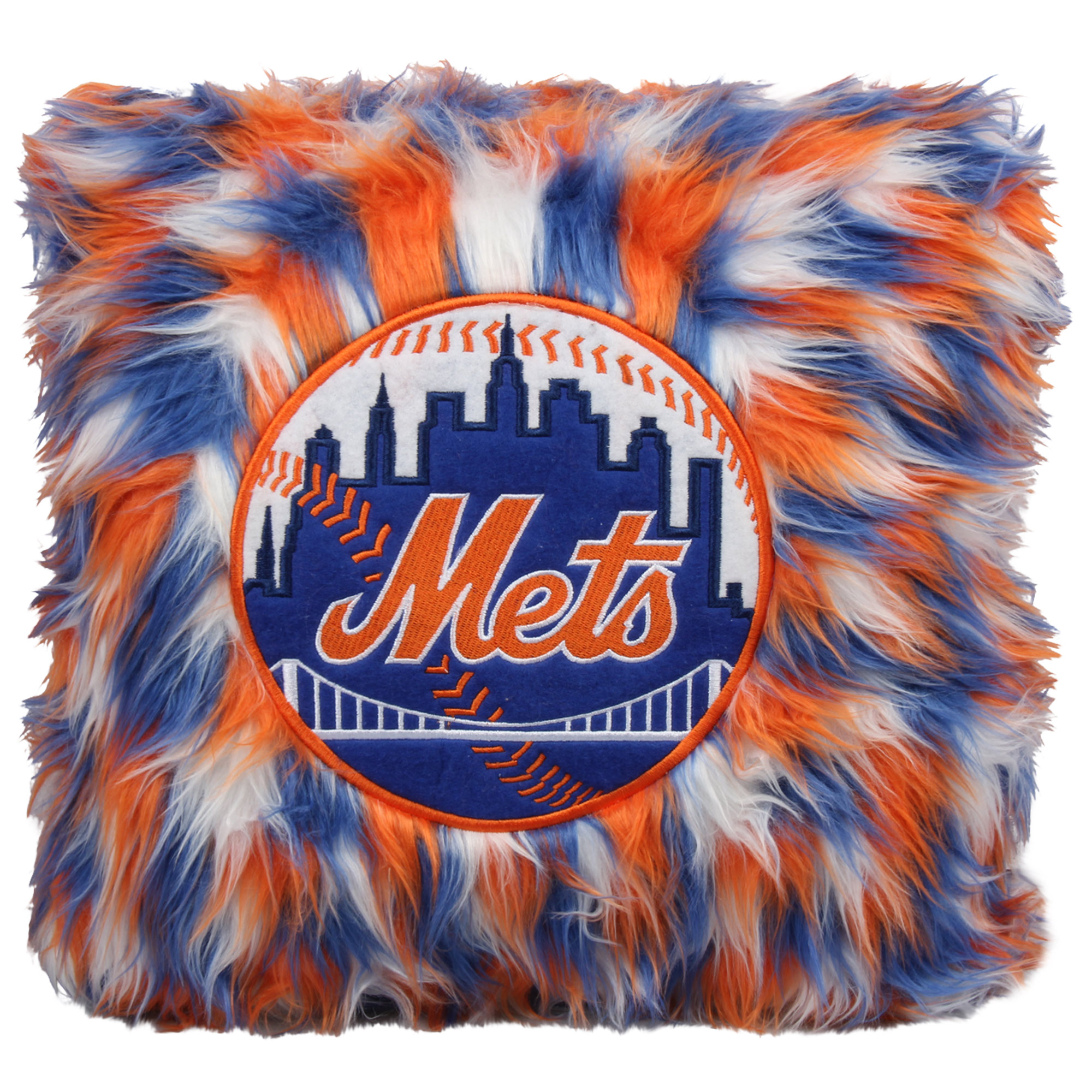 New York Mets Fluffy Plush Pillow - No Size