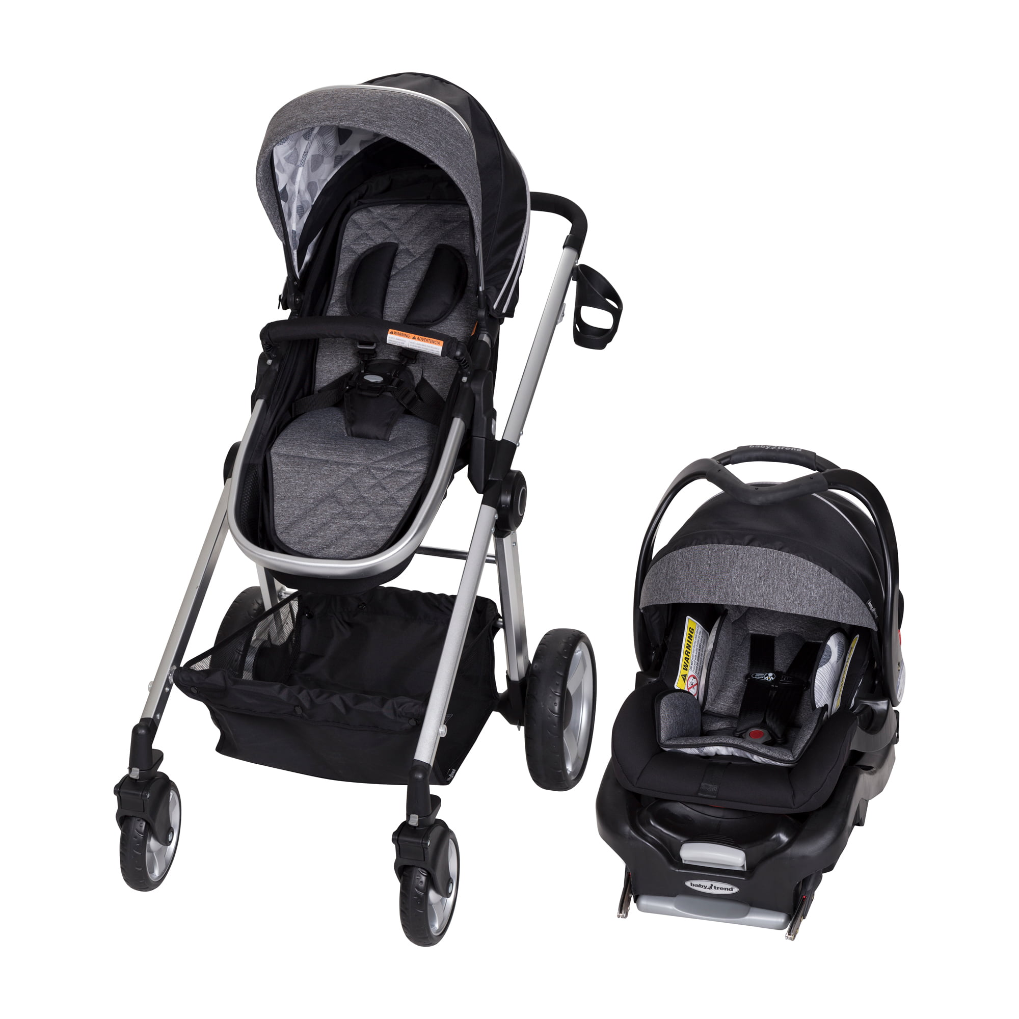 Baby Trend Go-Lite Snap Fit Sprout Travel System Drip Drop by Baby Trend