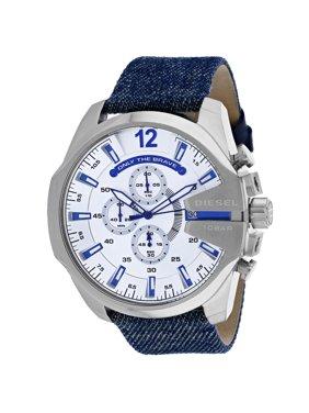 Diesel Men's Mega Chief Silver Dial Watch - DZ4511