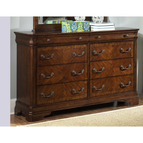 Liberty Alexandria Autumn Brown 8-drawer Dresser
