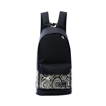 21c99bdcb1f6 New Womens Girls Canvas Vintage Backpack Rucksack College Shoulder School  Bag - Walmart.com