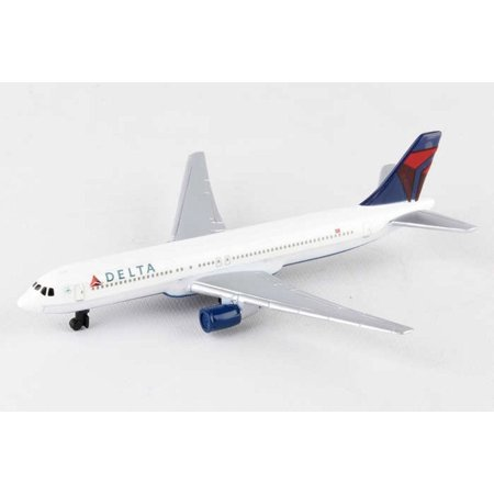 Delta Single Plane, White - Daron RT4994 - Diecast Model Airplane Replica ()