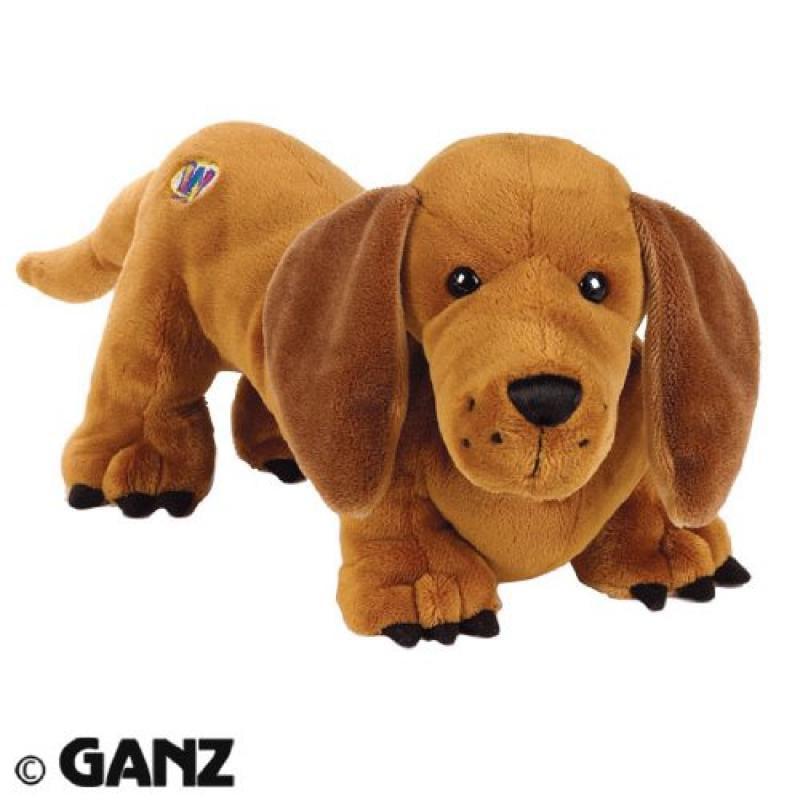 Ganz Webkinz Cinnamon Dachshund Dog Plush Toy With Sealed...