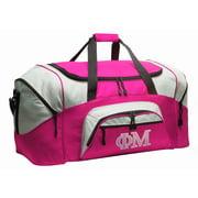 Phi Mu Duffle Bag or Ladies Phi Mu Sorority Luggage