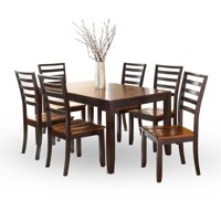 Abaco Two-Tone Cordovan Cherry 7-Piece Dining Set