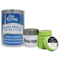 Dry Caddy Dry Aid Kit for Hearing Aids and Other Instruments, Keeps your hearing aids from moisture damage By Dry and Store