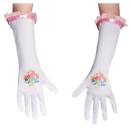 Multi Princess Glove Child Halloween Accessory (Princess Gloves)