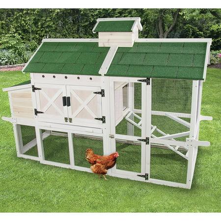Ware Manufacturing Premium Chicken Coop with Roosting Bar - Halloween Chicken Wire Ghost