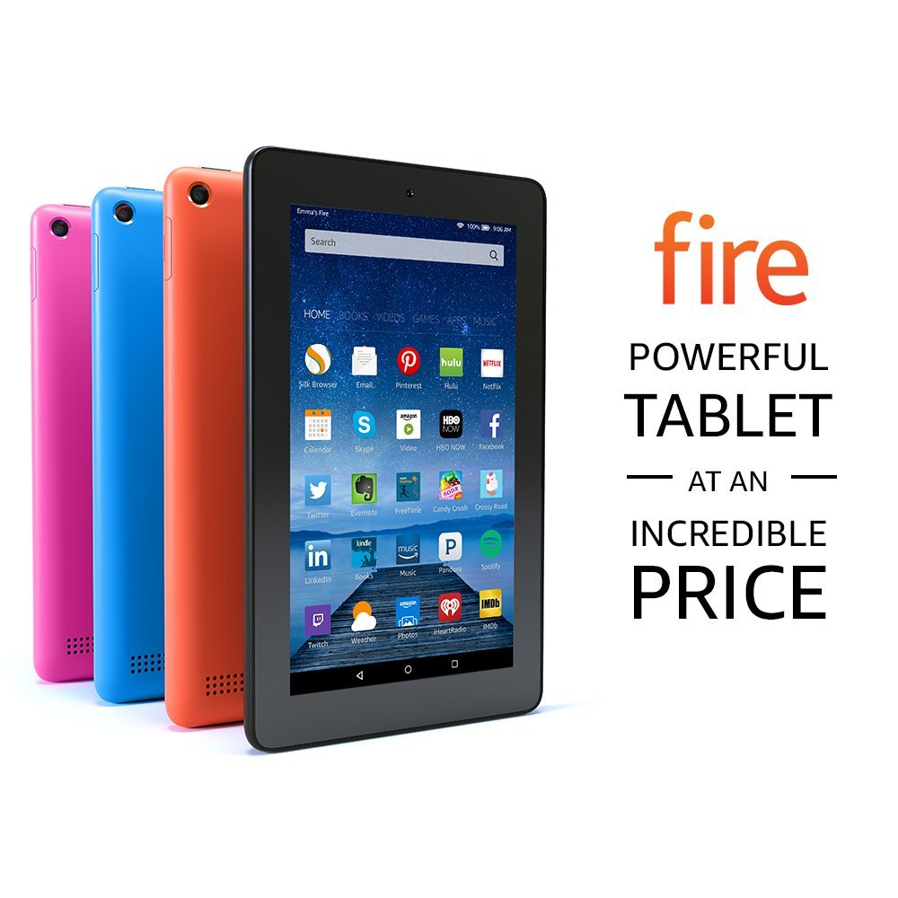 """Amazon Fire 7"""" Tablet 16GB Blue B018Y225IA"""