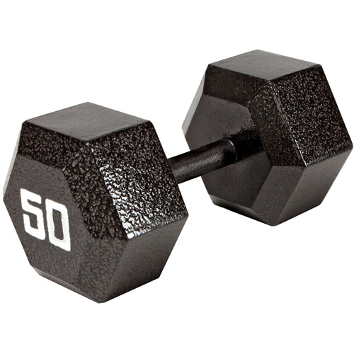 Marcy 50 lb EcoWeight Iron Dumbbell: IV-2050