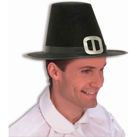 Pilgrim Hat Men's Halloween Accessory