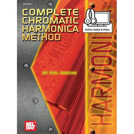 Complete Chromatic Harmonica - Chromatic Carbon