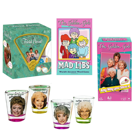 4 Yr Old Girls Games (Golden Girls Game Night Bundle Of 4 With Board Game, Word Game And)