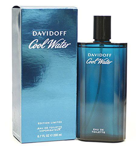 COOL WATER by Davidoff Eau De Toilette Spray 6.7 oz for Men