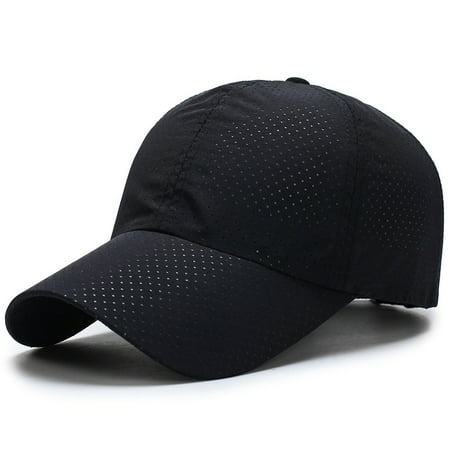 Unisex Men Women Summer Golf Mesh Hat Breathable Curved Visor Baseball Cap