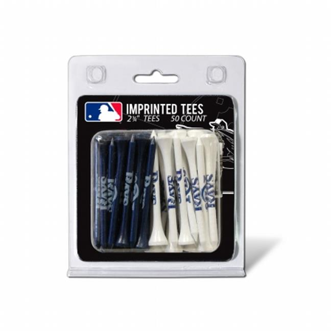 Team Golf 97655 MLB Tampa Bay Rays - 50 Tee Pk